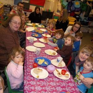 Parents' Tea party